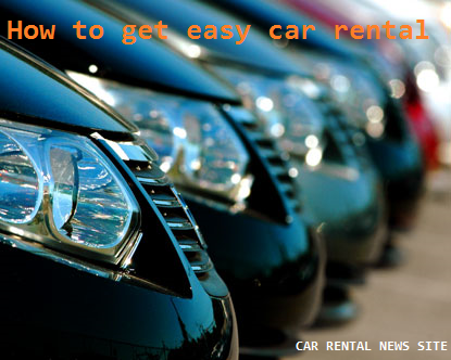 How to get easy car rental