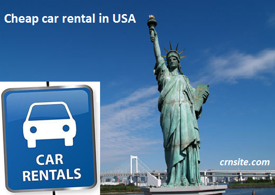 Cheap car rental in USA