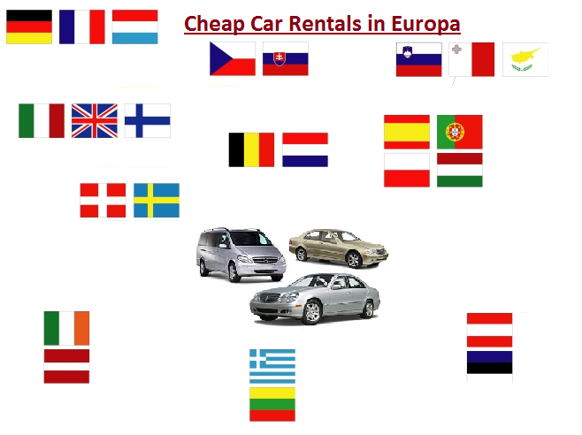 Cheap Car Rentals in Europa